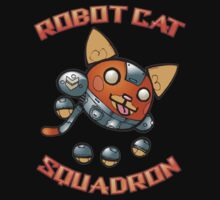 Robot Cat Squadron by Todd3point0