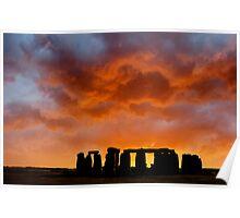 New Dawn ..... Stonehenge Poster