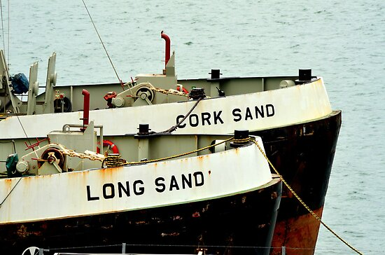 Cork Sands and Long Sands by Steve