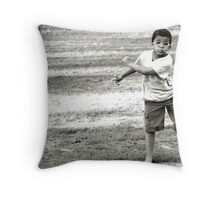 On The Hop Throw Pillow