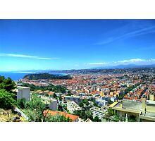 Nice (Nisa), Cote d'Azur, France Photographic Print