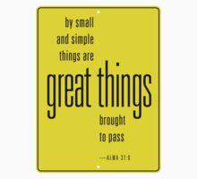 Great Things by Ryan Walker