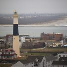 Lighthouse - Atlantic City by Frank Romeo