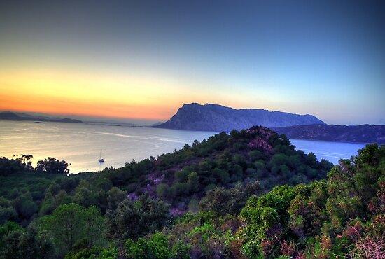 Sardinia - Sunset at Capo Coda Cavallo by TigerOPC