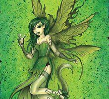 Absinthe Fairy by beanarts
