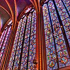 La Sainte-Chapelle by Nigel Fletcher-Jones
