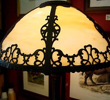 ANTIQUE TIFFANY LAMP   ^ by ctheworld
