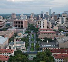 Austin TX Skyline by jgray1975