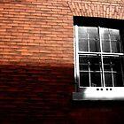 Red Brick/B&W Window by Peter Simpson