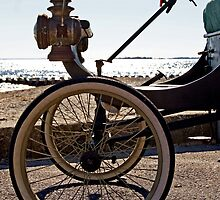 1900 Vintage Touring Car by Margie Avellino