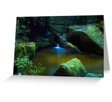 The Pond - Terrace Falls Greeting Card