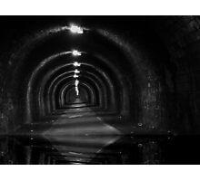 Tunnel-wather Photographic Print