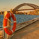 Bouy & Bridge by Lynden