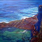 Bogey Hole, Newcastle, NSW, Australia by Carole Elliott