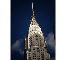 The Chrysler Building New York City Photographic Print