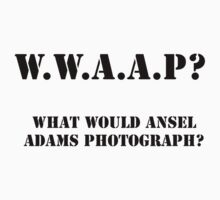What Would Ansel Adams Photograph? by GPMPhotography