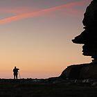 Headland Looking At Hill by Matt Penfold