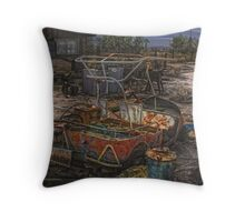 Golf Course Closed Throw Pillow