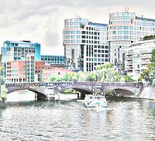 Berlin Boat Ride by Timothy Alberry