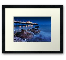 Worthing Pier Framed Print
