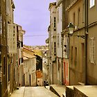 Spanish street by Steve