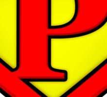 Classic P Diamond Graphic Sticker