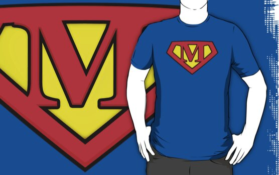 SUPER M Logo Shield by Adam Campen