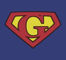 SUPER G Logo Shield by Adam Campen