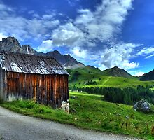 Dolomiti I - Towards Funciade by TigerOPC