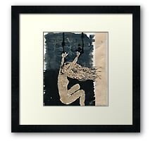 Truth is comforting like a wreckage on a sea. There's nothing to grasp nothing to let go. Framed Print