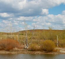 Bennington Lake Spring in Walla Walla by AdventureGuy
