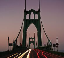 St. Johns Bridge, Portland by Cameron Booth