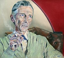 Actor Peter Cushing by Astrid de Cock