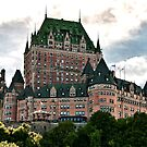 Chateau de Frontenac in Quebec City, Canada by Giovanni Gagliardi