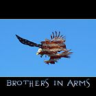 """""""Brothers in Arms"""" Patriotic Poster  by Val  Brackenridge"""
