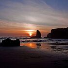 Bandon Sunset by LucyAbrao