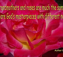 grammas and roses quote card by dedmanshootn