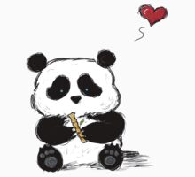 Panda Love Bamboo by Jayne Whitaker