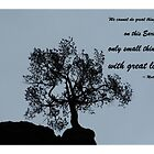 Solo Tree and Great Love by Mardra