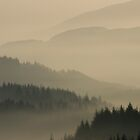 Dukes Pass, Trossachs by David Mould