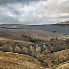 Dent Viaduct, Dentadale in the Yorkshire Dales by Peter Talbot