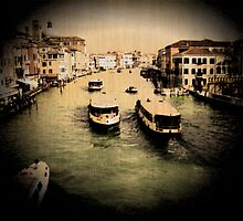 Boats at Venice by Sunil Bhardwaj