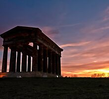 Penshaw Monument at Sunset by chemival
