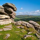 Pew Tor, Dartmoor, England by Giles Clare