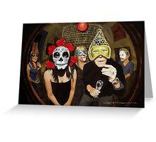 Masked Ball #3 Greeting Card
