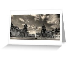 Old Royal Naval College - Greenwich Greeting Card