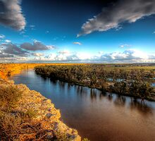 The Mighty Murray - The River Murray, South Australia by Mark Richards
