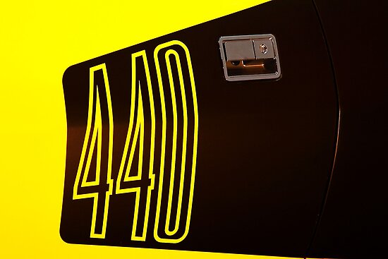 440 in yellow by Stuart Baxter