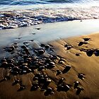 Lake Superior Rocks - Marathon Ontario Canada by loralea