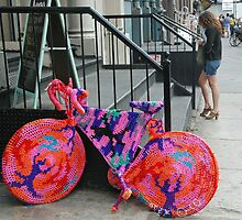 Colorful Bike by Leon Heyns